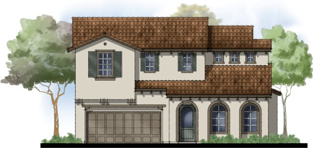 Elevation Plan In Spanish : The landing at hamilton new homes novato